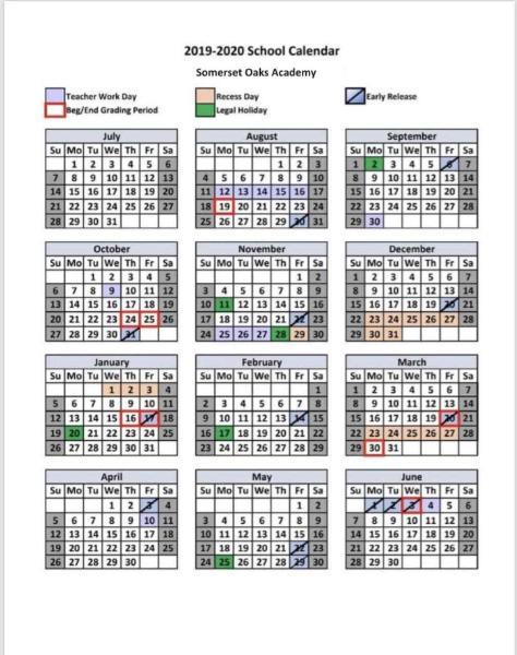 Somerset City Arts 2019 2020 School Year Calendar News And Announcements